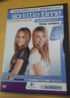 SO LITTLE TIME VOLUME TWO BOY CRAZY (DVD)MARY KATE AND ASHLEY OLSEN