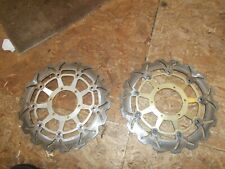 2004  HONDA CBR 954RR FRONT BRAKE DISC ROTORS
