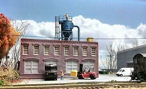 O Scale Dust Collector Cyclone Grain Elevator Lumber Cement Plant Steel Mill
