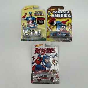 Hot Wheels Captain America Bundle The Avengers 57 Plymouth Fury Sir Ominous Ford