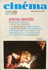 Cinéma 79 n°250 - 1979 - Cinéma Français - Werner Herzog - Maurice Pialat -