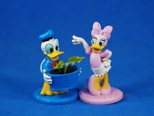 Cake Topper Decoration Disney Donald Duck Daisy Gardener Mini Flower Pot Figure