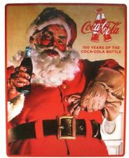Coca-Cola Santa Loves Coke Supersoft Fleece Blanket 55 x 70 - BRAND NEW