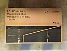 """LG - 27UK600-W 27"""" HDR IPS LED 4K UHD FreeSync Monitor"""