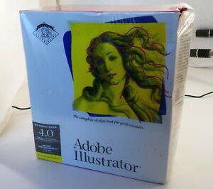 Adobe Illustrator 4.0 for Windows New but in slightly damaged box