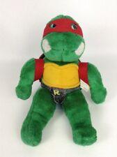 """1990 Playmates Teenage Mutant Ninja Turtles Raphael 15"""" Stuffed Animal Plush Toy"""