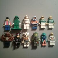 LEGO Assorted 12pc Minifigure Lot Various Themes Lot 2