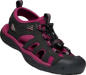 Keen Damen Sandale SOLR 1022454 Schwarz Pink Recycling Material