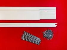 Mobile Home Skirting Underpinning Trim Kit. 20 Pack. 116' of Trim. w/Hardware!