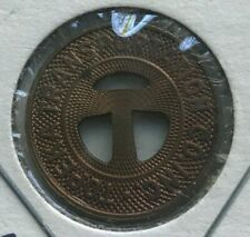 Topeka Kansas KS Topeka Transportation Co Inc Transportation Token