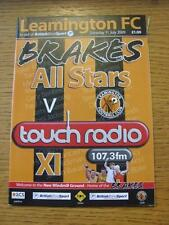 11/07/2009 Leamington All Stars v Touch Radio XI [Friendly] . Item In very good