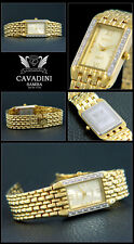 Luxury Cavadini Women's Watch with imitation stones very attractive design with