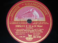 ORCHESTRA 3 x 78 rpm RECORDS Gramophone VIENNA PHILARMONIC Bruno Walter HAYDN