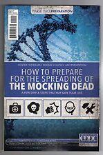 """The Mocking Dead #2 - Bill Tortolini """"Zombie Caution"""" Main Cover - 2013"""