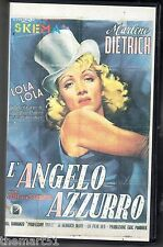 L' Angelo azzurro (1930) VHS SKEMA  NEW cellofanata