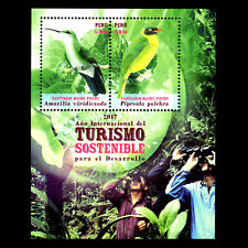 Peru 2018 - Birds - Intl Year of Sustainable Tourism for Development - MNH