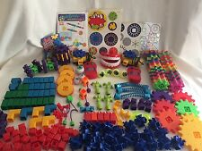 Gears! Gears! Gears! 2 Motors 220 pc Lot  Learning Resources Classroom Teacher