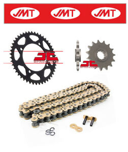 Dinli Special 450 LOF 2014- 2016 JMT Gold Chain & Sprocket Kit (520X2)