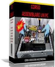 CORSO + VIDEOCORSO ASSEMBLAGGIO COMPUTER - PC + SIMULATORE VIRTUALE IN OMAGGIO