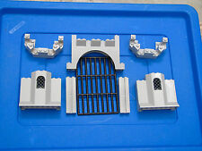 Lego Castle Kingdoms Lot of Castle Panels, Gate & Turrets as pictured