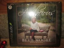 Audacious by Beth Moore (Audio CD– Audiobook) BRAND NEW....