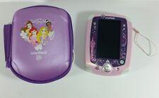 LeapFrog Leap Pad 2 Disney Princess With Case Stylus USB Connector Purple