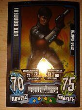 Force Attax Star Wars Serie 4 Star-Karte 210 Lux Bonteri Sammelkarte