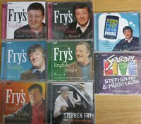 STEPHEN FRY - FRY'S ENGLISH DELIGHT BBC RADIO 4 SERIES - 8 NEW SEALED AUDIO CD