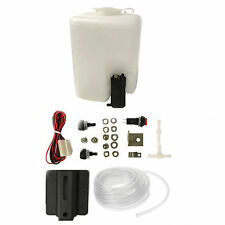 Universal 12 Volt Windscreen Washer Pump & White Water Bottle