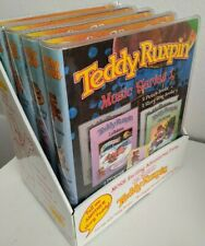 2006 Teddy Ruxpin Book/Tape Sets Treasure/Adventure & Music Series LOT of 4 NEW