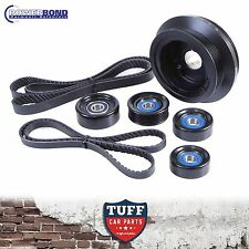 VE Holden HSV LS3 V8 25% Powerbond Underdrive Balancer Belt & Pulley Kit 10-13