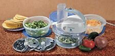 New listing Hamilton Beach Change-A-Bowl Multi Bowl Slicer Shredder Food Processor 3 Bowls