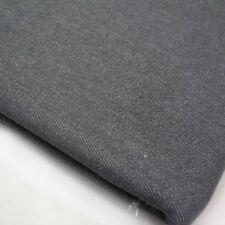 Coloured Stretch Denim - Grey - Twill Jeans Fabric
