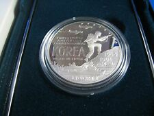 UNITED STATES  -  KOREAN WAR MEMORIAL - 1991P  $1 SILVER PROOF COIN  (ersc4)
