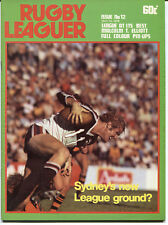 1978 Rugby Leaguer Magazine.  10 May.  Issue 12.