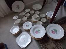 """Vintage Platter 11--3/4""""  CALI ROSE Homer Laughlin 22Kt Trim Cunningham"""