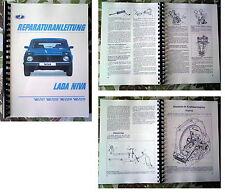 Reparaturanleitung Reparaturhandbuch Lada Niva in deutsch  1,7L & 1,9L Motoren