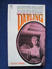DARLING - SIGNED by FREDERIC RAPHAEL to His Publisher - JULIE CHRISTIE Oscar Win