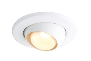 R80 WHITE EYEBALL DOWNLIGHT  E27 60W MAINS VOLTAGE OLD STYLE SPOT LIGHT