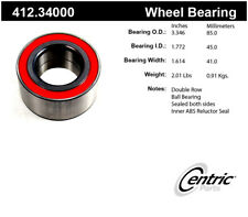 Wheel Bearing-M Coupe Rear,Front Centric 412.34000