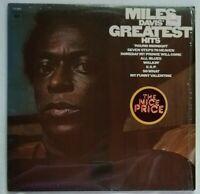 Miles Davis' Greatest Hits 1969 vintage PC9808  LP NM/VG++ In orig. shrink wrap
