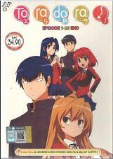 DVD ToraDora TV 1-25 end (Tiger X Dragon , Tora Dora) + Bonus Anime (Eng Audio)