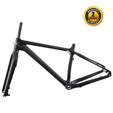 ICAN 26er Carbon Fat Bike Frame 16'' BSA 197mm Rear Spacing UD Matt Only 1260g