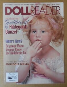 Doll Reader Magazine Reprint April 1999 For Lee Middleton Dolls ++Rare++