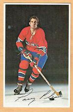 1969-71 Canadiens (No Credit Line) Team Issued Postcard, Larry Pleau, Lite