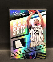 2014-15 PRESTIGE BONUS SHOTS ANTHONY DAVIS GREEN  #'d 1 Of 5!! SSP Clean.