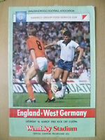 1985 School International - ENGLAND v WEST GERMANY