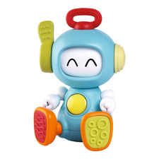 B KIDS Bkids Pull and Spin Discovery Robot Baby Toy