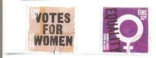 Ireland Votes for women fine used set 2011 (2053/4)-marginal