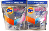 2 Tide 9 Pacs Brights And Whites Rescue In Wash Laundry Booster Fights dullness